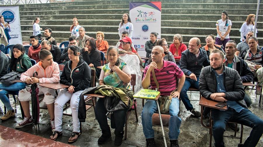 Sensibilización del Programa Sin Limites a todos los asistentes